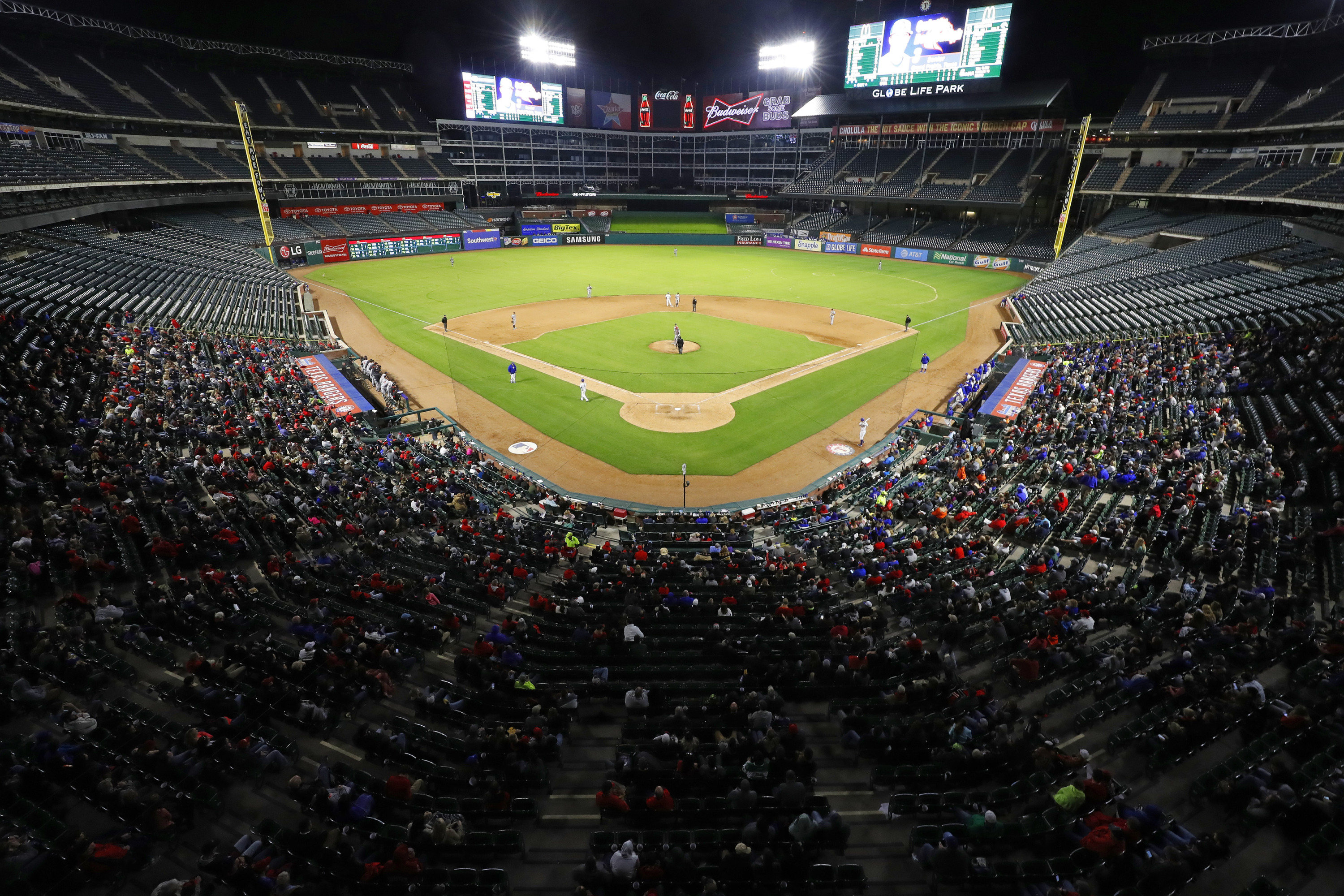 BSB  Mavs vs. Baylor at Globe Life Set for 2018 - University of ... 9e429166ef36