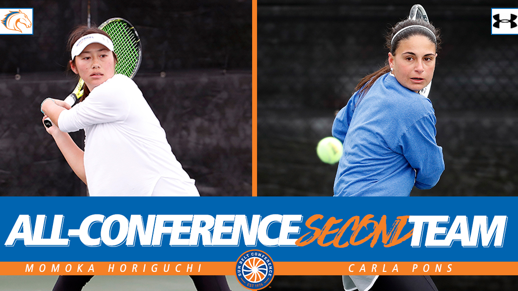 Horiguchi and Pons Earn Second Team All-Conference